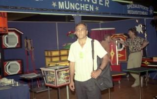 دکتر بهروز کریمی پریستو پدر شعبده بازی ایران
